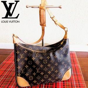 🆕Louis Vuitton Boulogne 30 Monogram Canvas Bag